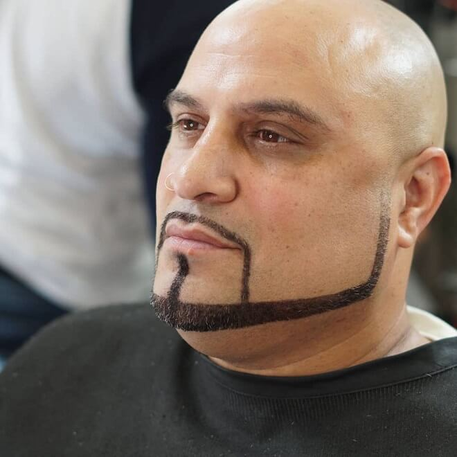 Sharp Beard Style