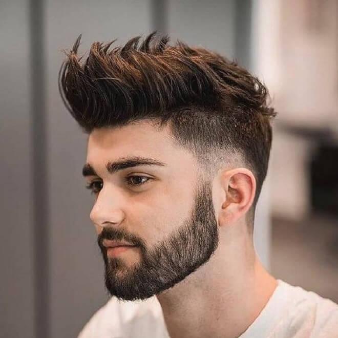 Simple Beard Style