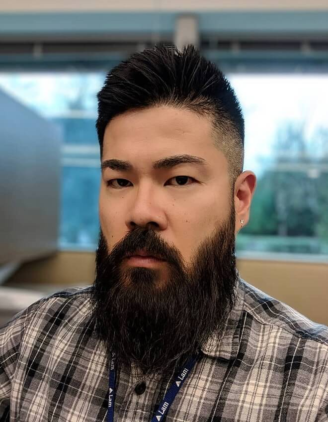 Asian Men Long Beard