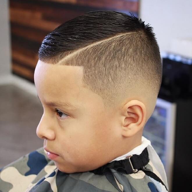 Bald Fade Haircut Kids 53