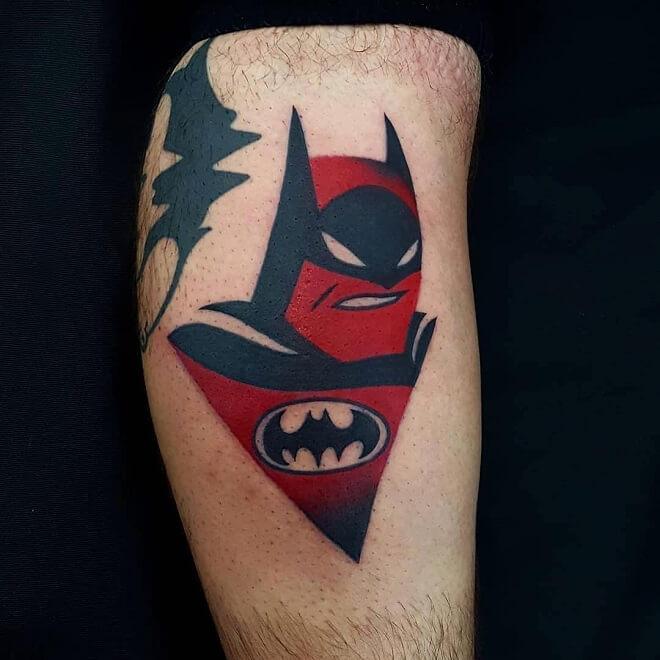 Batman Color Tattoos