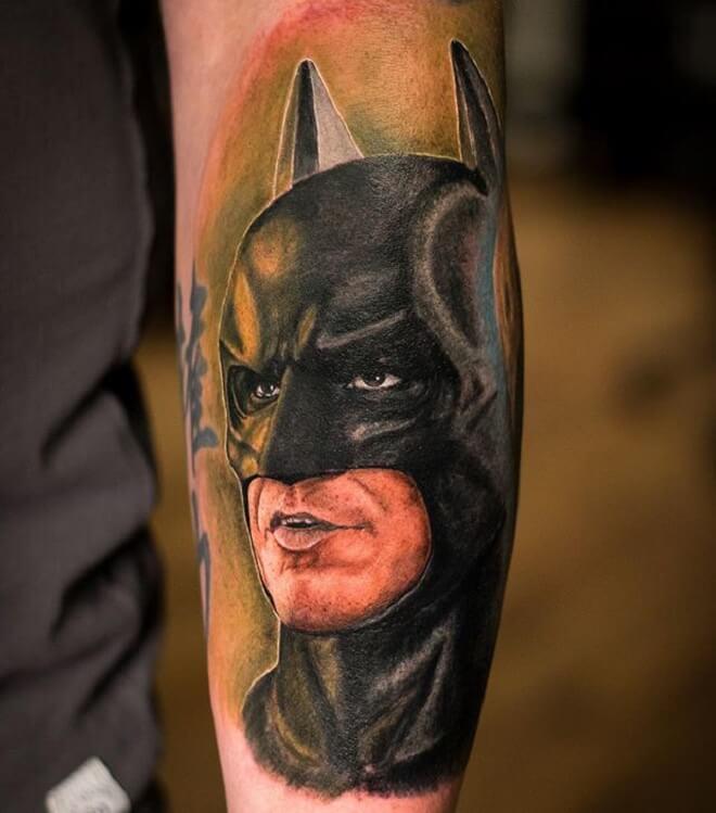 Batman Dark Tattoo