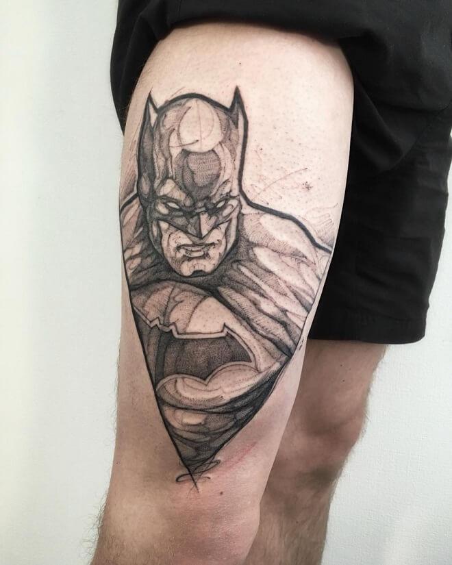 Batman Darkk Night Tattoos