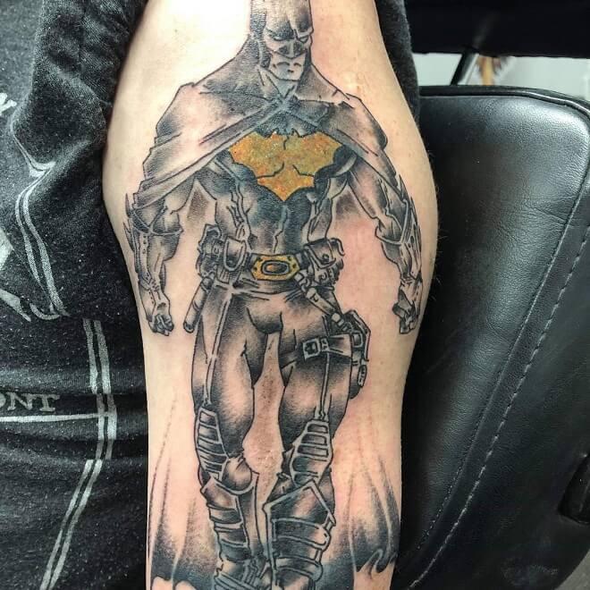 Batman Dc Comics Tattoos