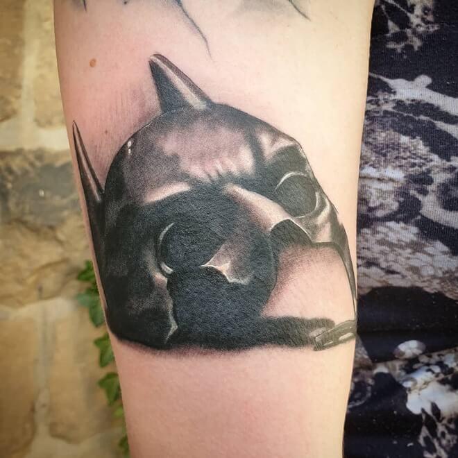 Batman Mask Tattoos