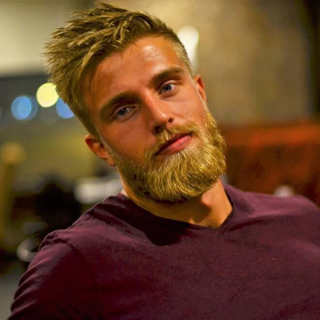 Beard and Blonde Hair Styles