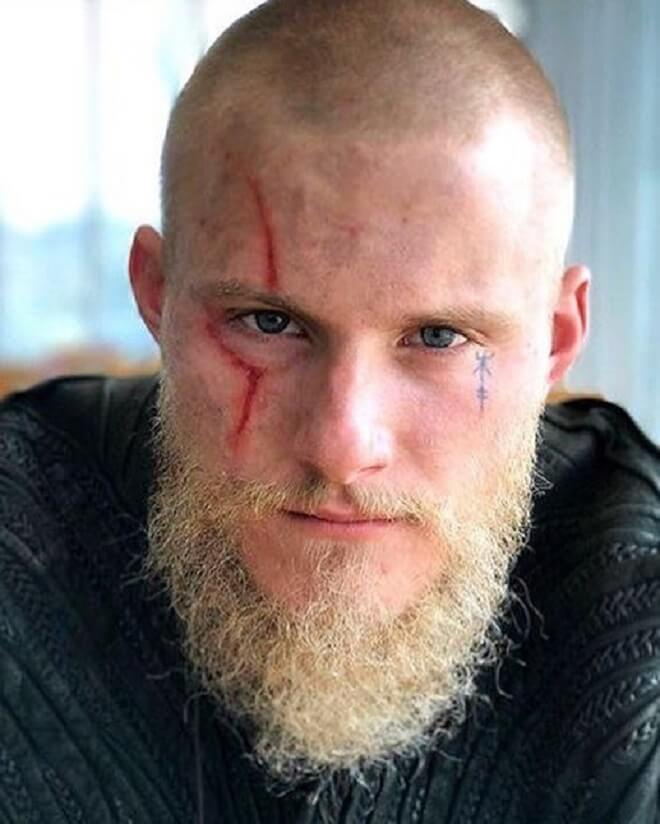Blad Viking with beard