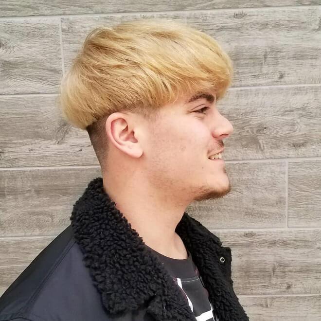 Blonde Bowl Cuts