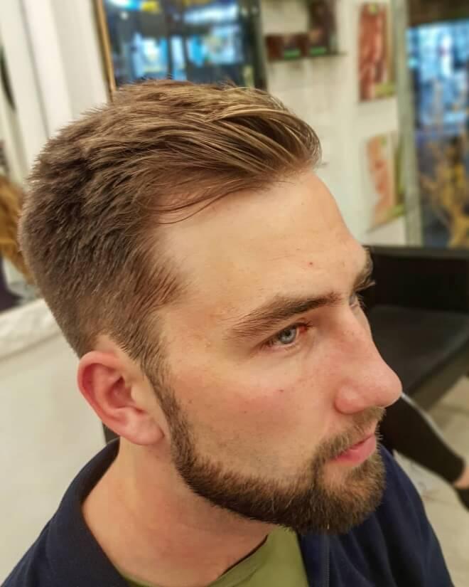 Blonde with beard