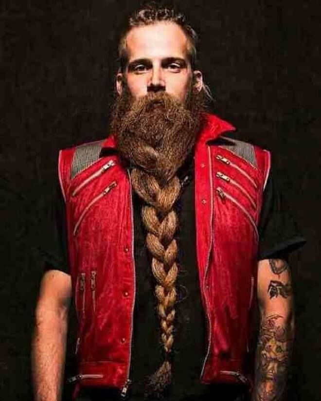 Braided Beard