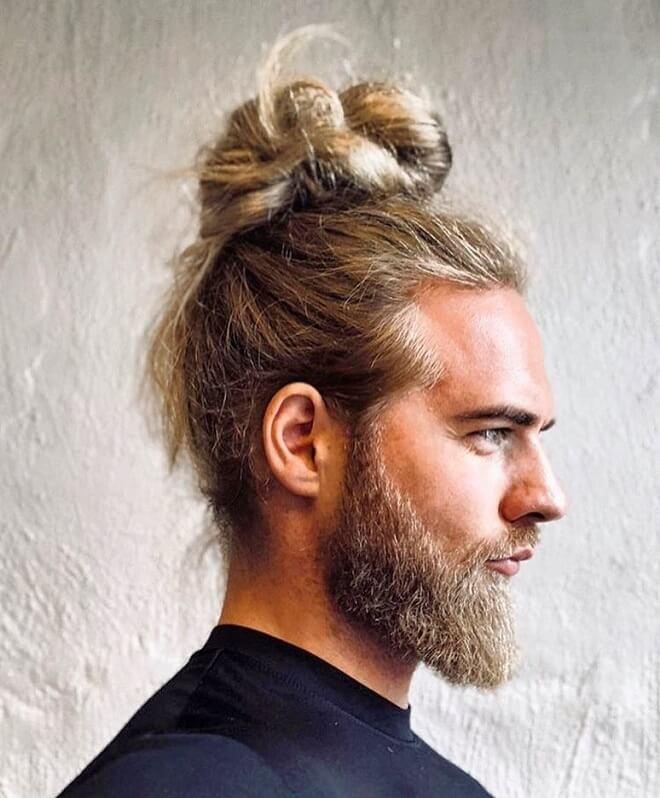 Bun Blonde Hairstyles
