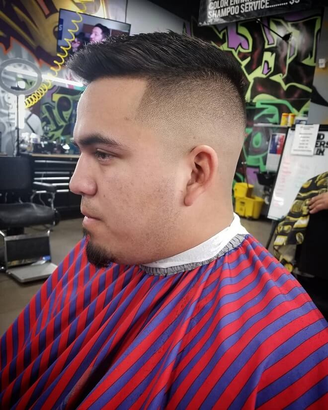 Burst Fade With Spiky Style