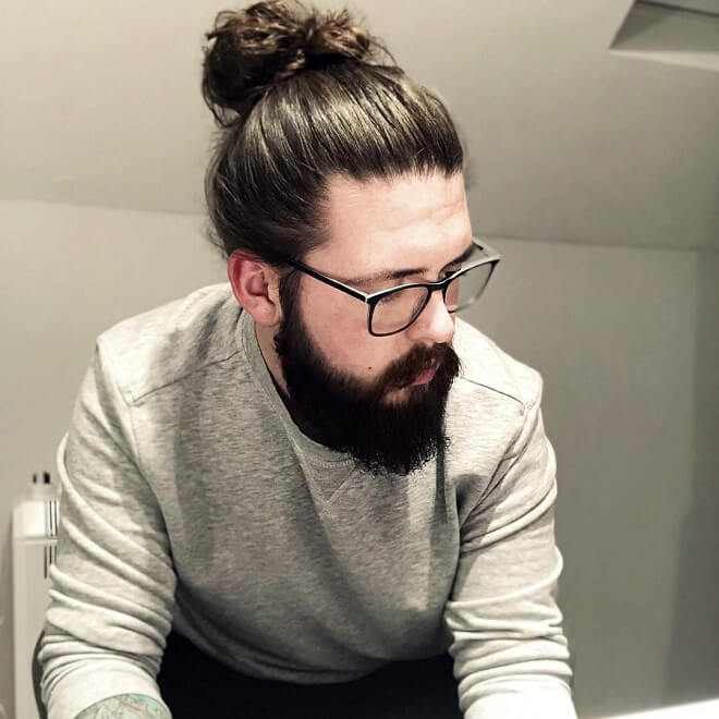 Business Man Bun Hairstyle