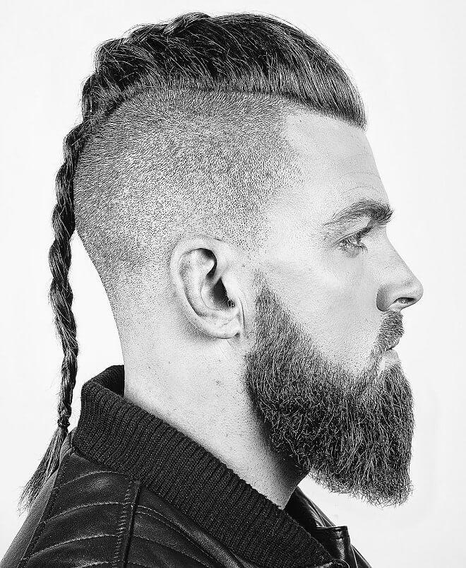 Classic Viking Haircut