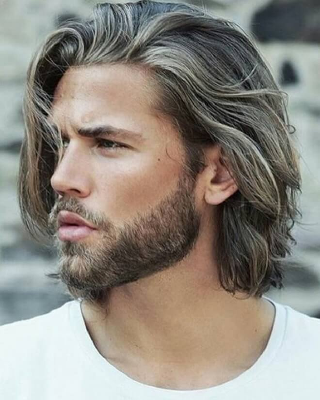 Comb overs hairstyle