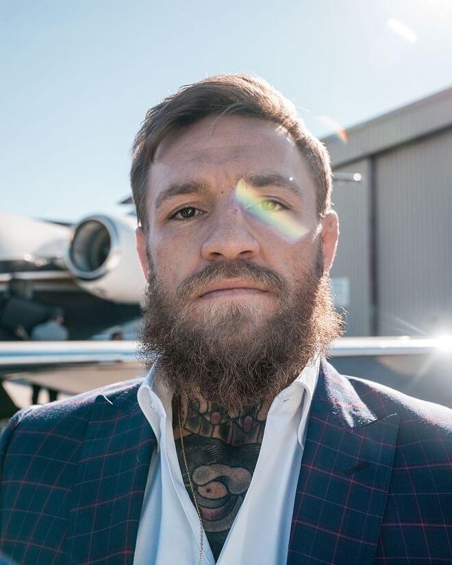 Conor Mcgregor Beard Style