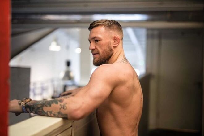 Conor Mcgregor Short HairStyle