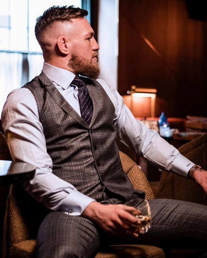 Conor Mcgregor Undercut Style With Beard