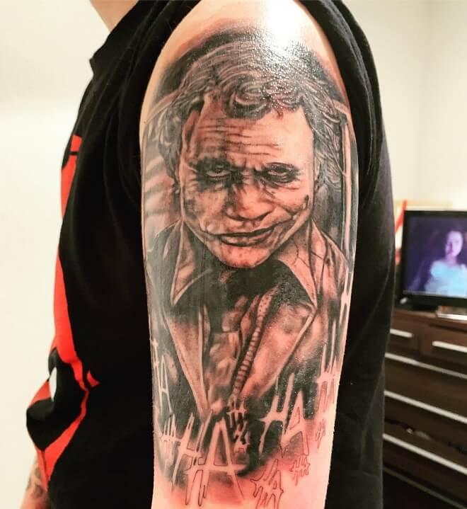 Dc comic tattoo