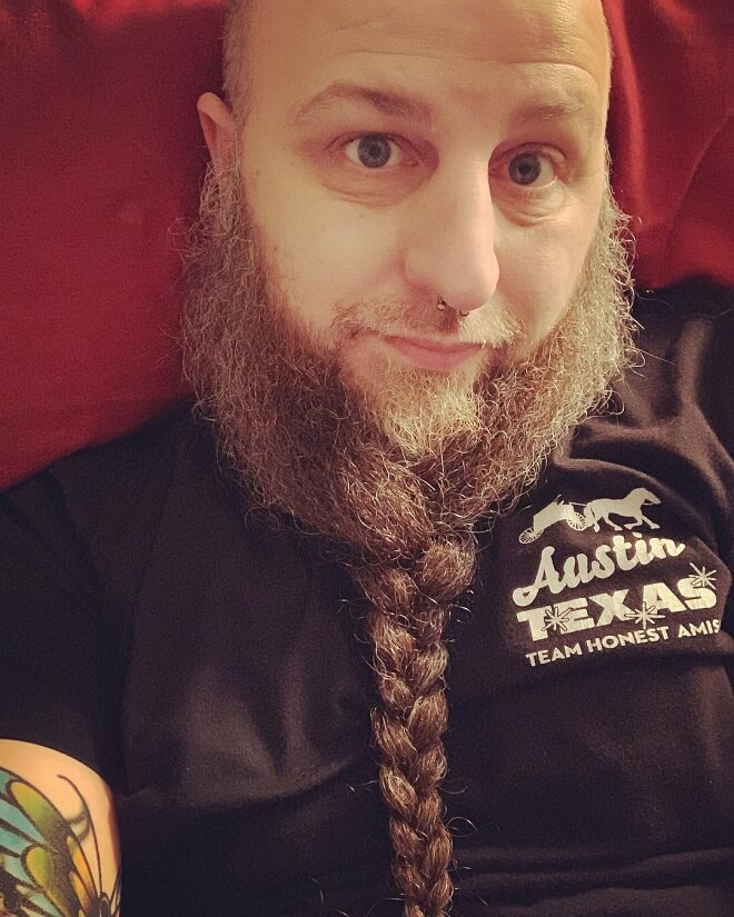 Full Stumble Braid Beard