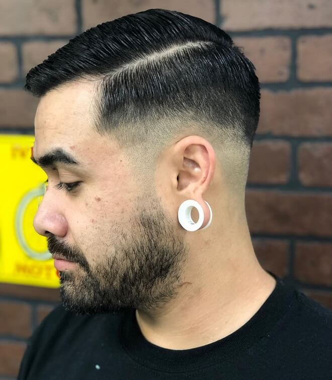 Hard Part Comb Over