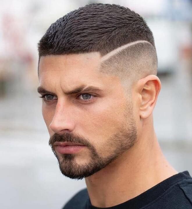 Hard Part French Crop Haircut
