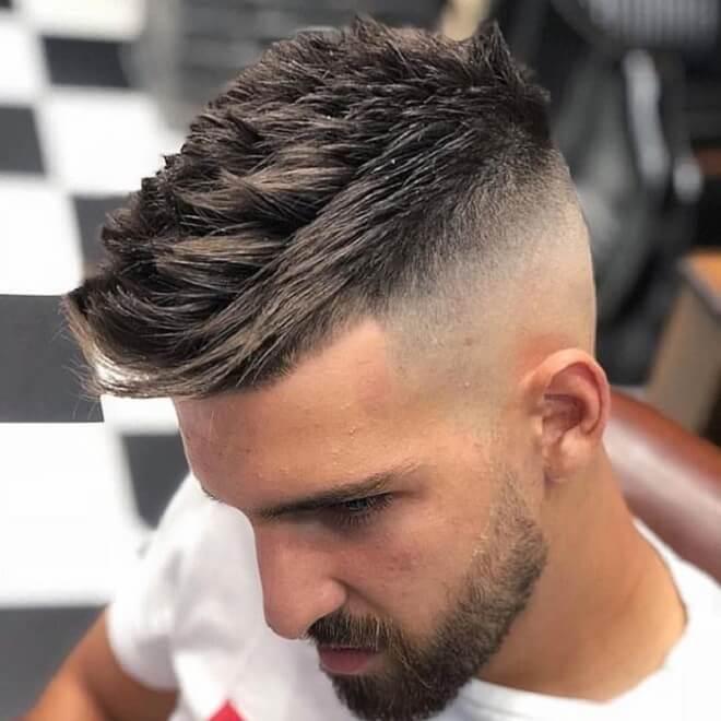 Hard Part Hair Cut