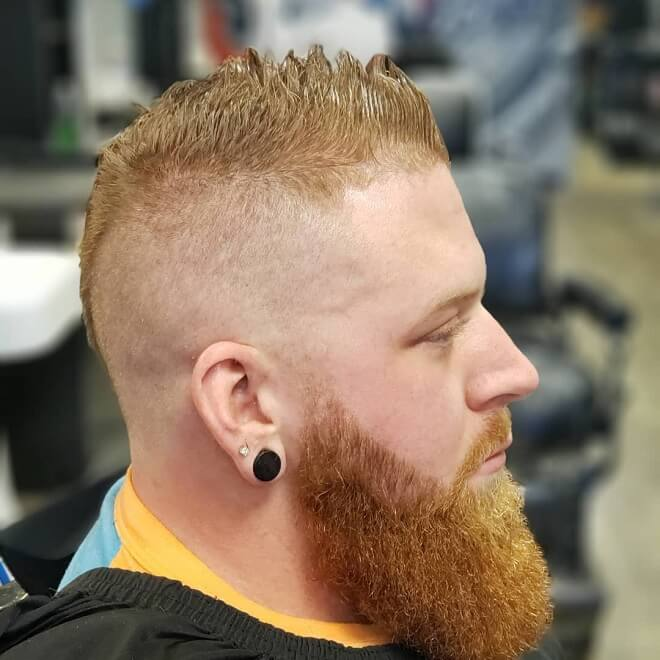 Hard Partcut With Spiky Hair