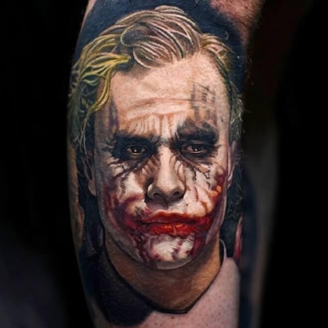 Hiper realistic tattoo