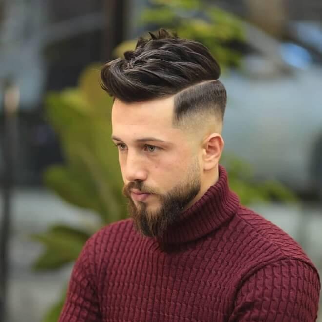 Layered Blowout Haircut