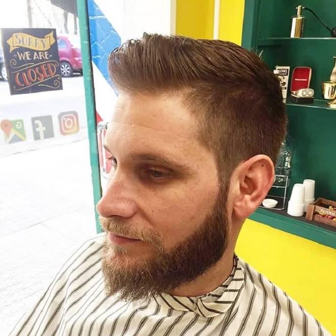 Low Fade With Beard