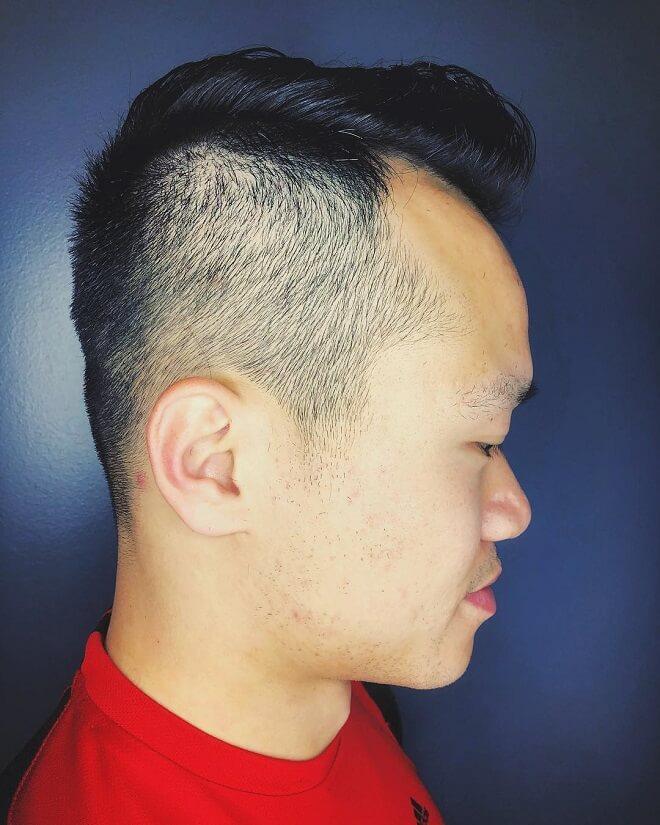Low Side Fade Cut