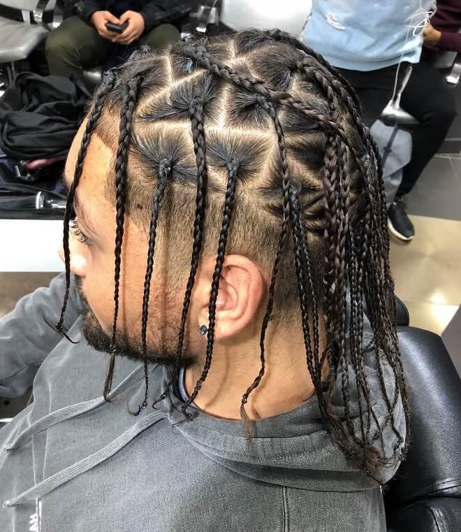 Modern Man Braid Style
