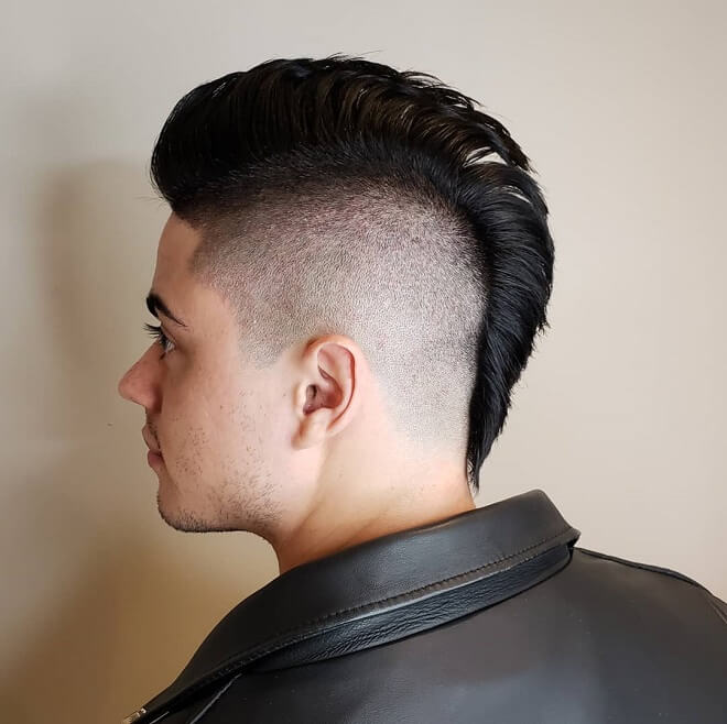 Modern Mohawk Haircut