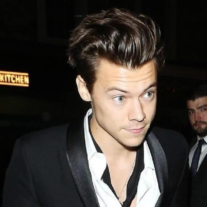 Pompadour Harry Styles Haircut