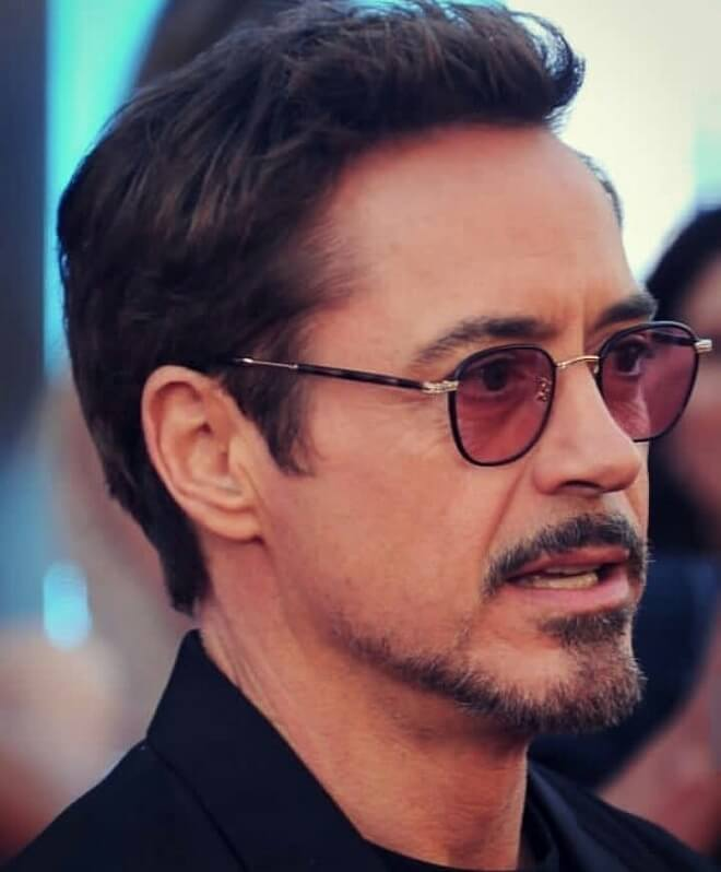 Robert Downey Jr Beard Style