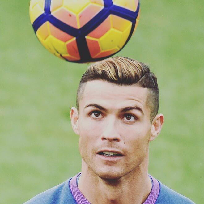 Ronaldo Golden Hairstyle