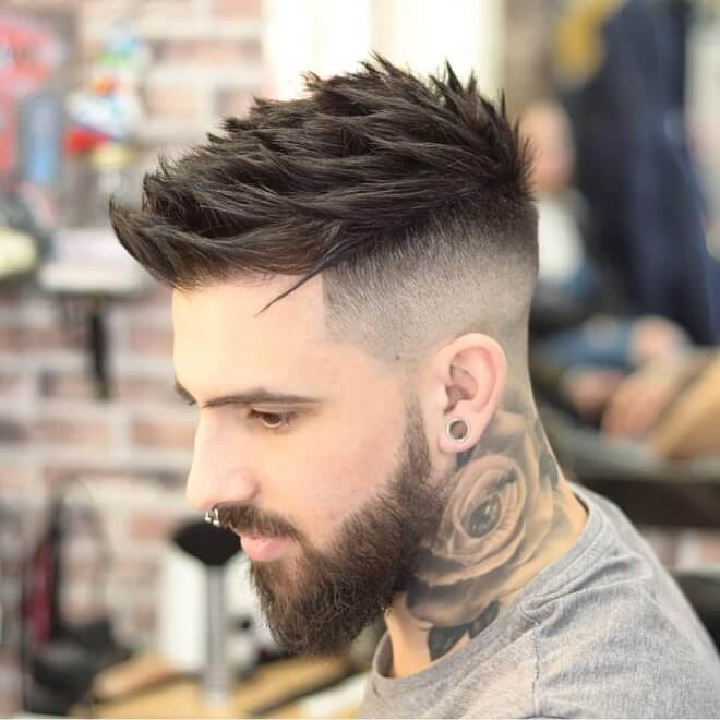 Top 30 Cool Shaved Sides Hairstyles For Men Best Shaved Sides Hair