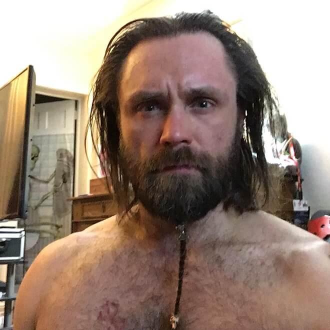 Short Beard Long Braided
