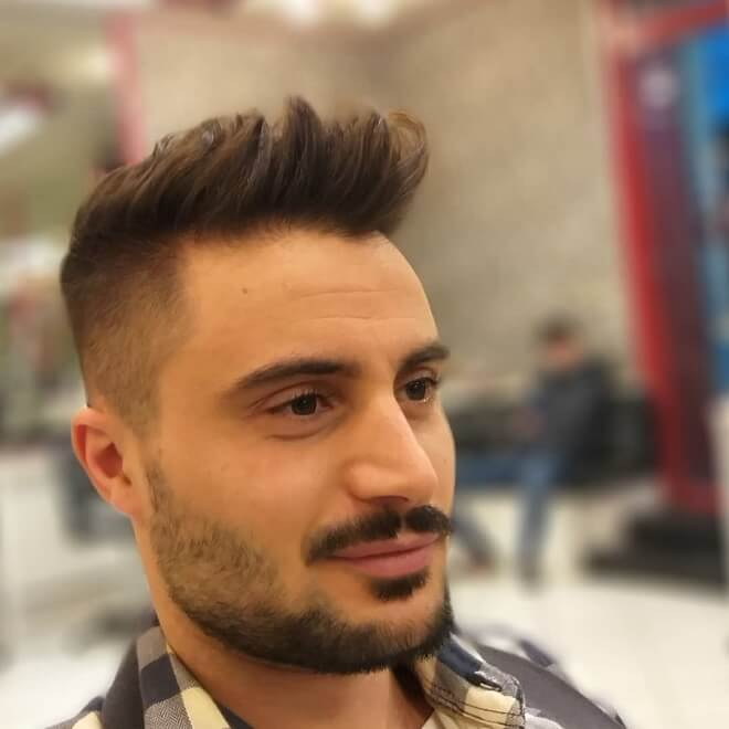Top 30 Stylish Mohawk Fade For Men Popular Mohawk Fade 2019
