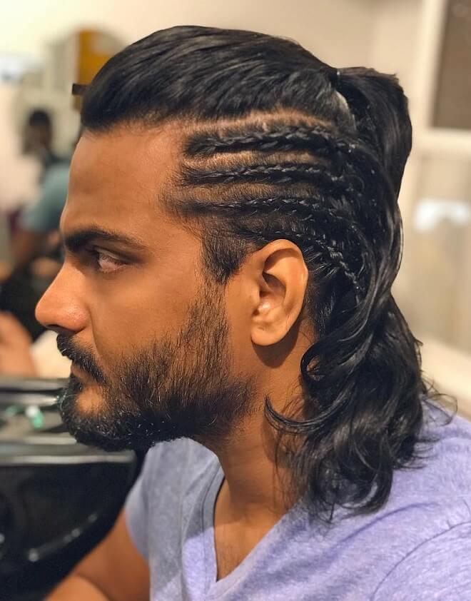 Side Part Braid