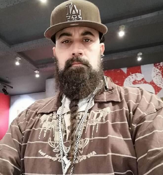 Single Braid Beard