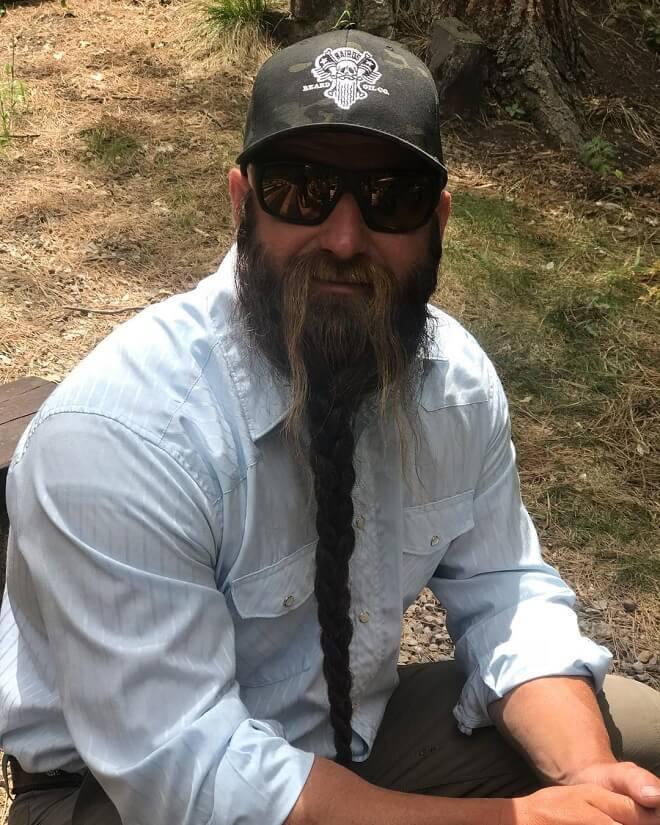 Single Braided Beard