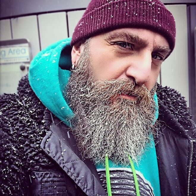 Stylish Viking Beard