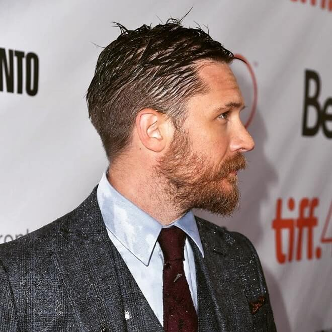 Tom Hardy Bushy Beard