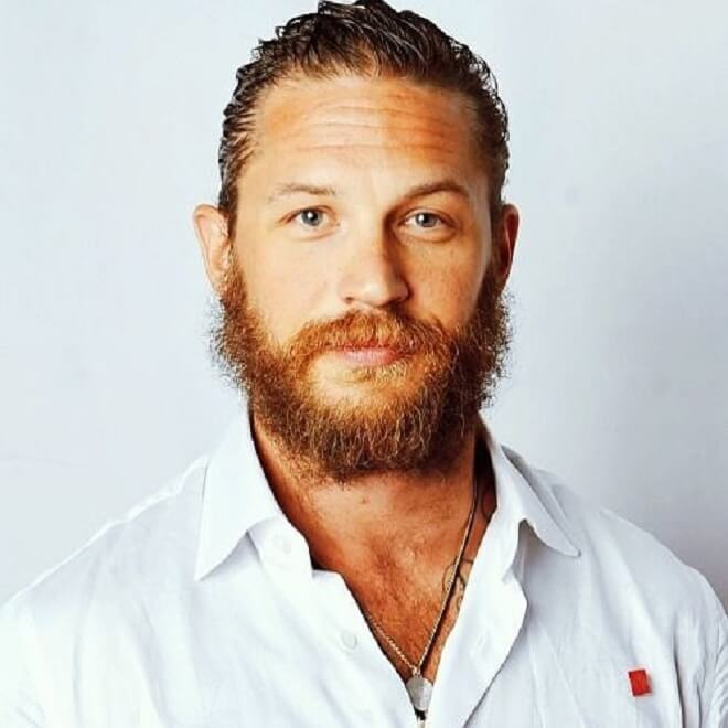 Tom Hardy Shaggy Beard