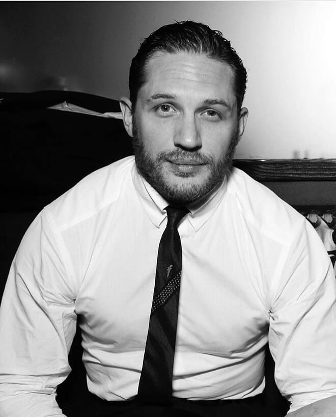 Tom Hardy Short Medium Beard