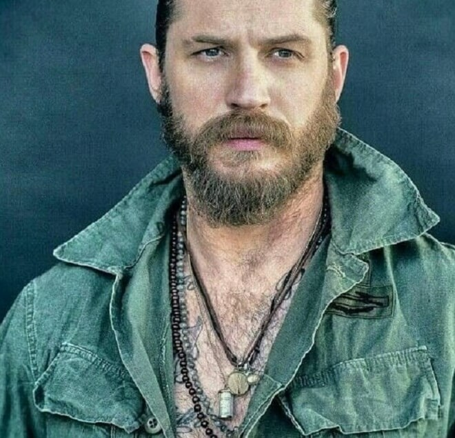 Tom Hardy Thick Beard