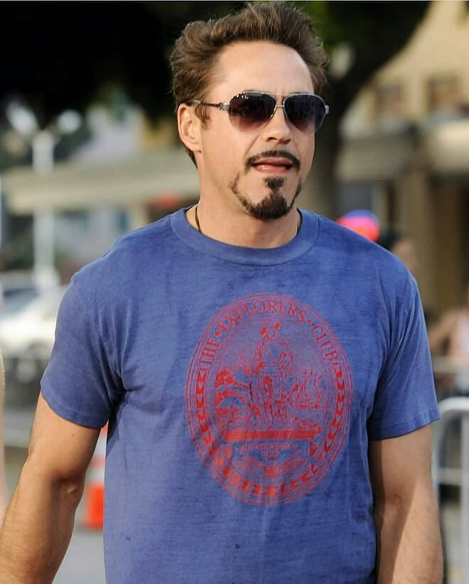 Tony Stark Stylish Beard