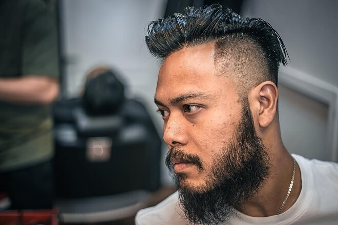 Trimmed Mesium Asian Beard